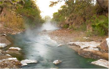 Wonderful Thermal Springs Highly Mineralized Waters