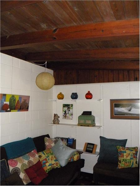 Den/Study - Beamed Ceiling