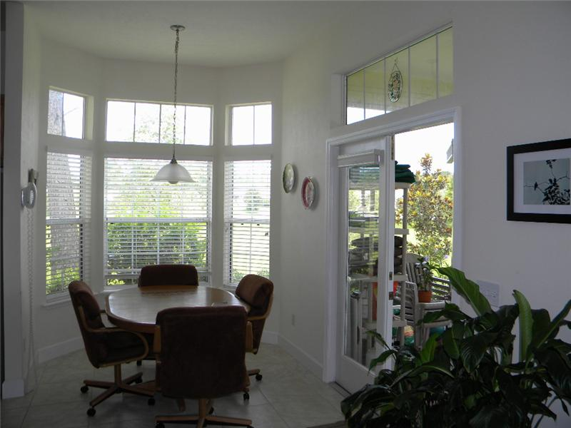 French Doors to Screened Patio