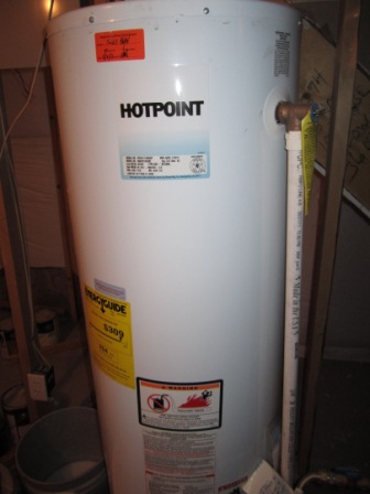 The New water heater