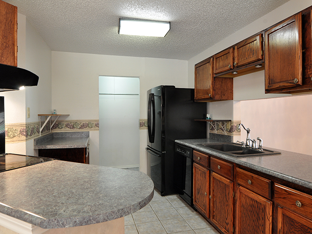 Kitchen with Newer Counter Tops