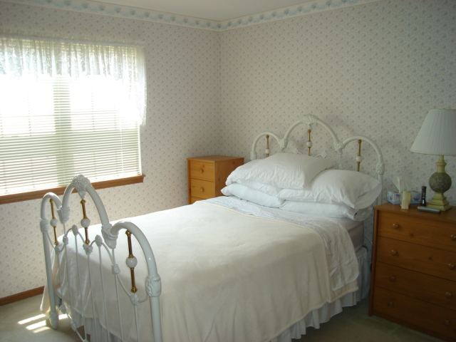 One of the 2 spacious bedrooms