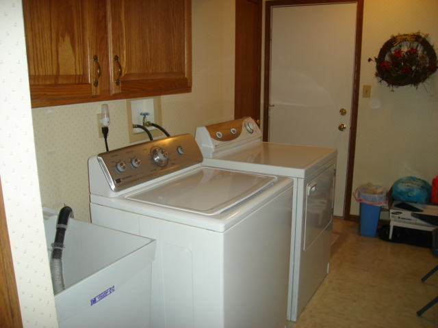Huge first floor laundry room