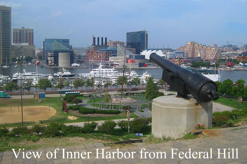 Inner Harbor Viewed from Federal Hill
