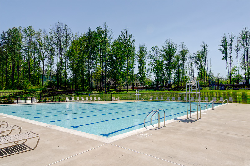 Community amenities include pool