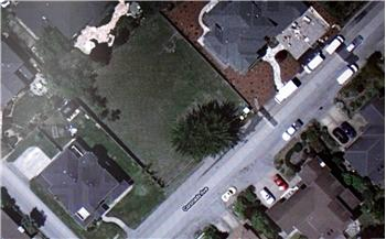 Aerial view of Coronado Lot in Half Moon Bay Miramar area