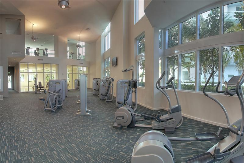 Two Story Gym with Classes from Spinning to TRX