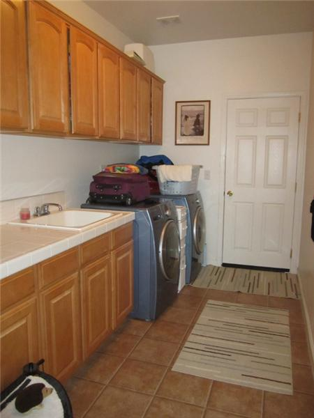Indoor Laundry Room