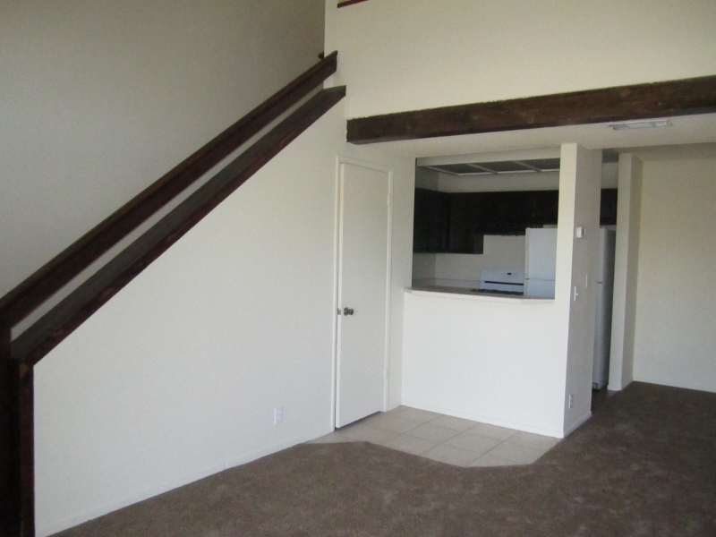 Living room/stairs to loft