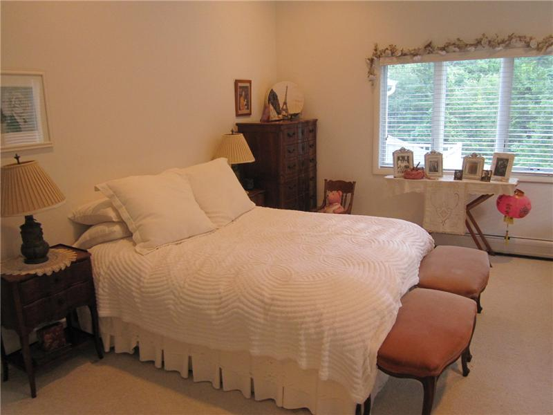 2nd Bedroom with sitting area and cathedral ceiling