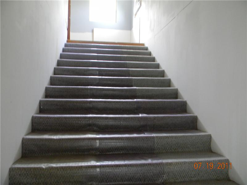 Wide Stairs to Upper Level
